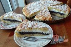 Strouhaný makový koláč s tvarohem   NejRecept.cz French Toast, Breakfast, Morning Coffee