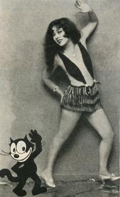 Ann Pennington (and Felix the Cat)