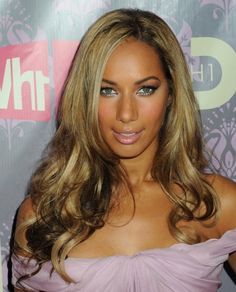 Leona Lewis sexy long hairstyle hair-and-beauty