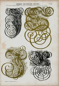 german decorative script