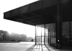 Berlin New National Gallery, Berlin 1962-8, Mies van der Roh   x jmtp