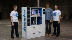 Dreambox- 3D Printer Vending Machine Creates and Bestows Designs In Front of Your Eyes