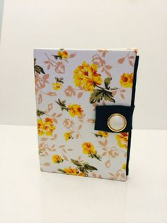 Yellow and Green Floral Earring Book for Travel by TheElegantLady, $15.00