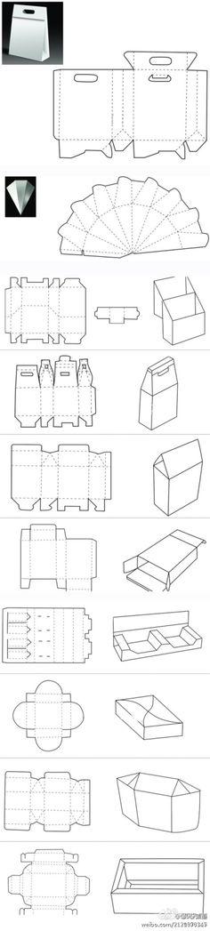 10款最新纸盒图纸~