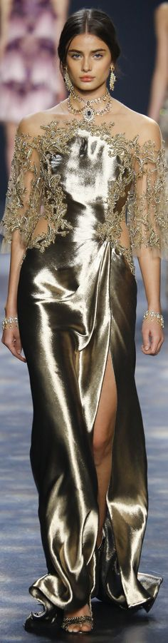 Rosamaria G Frangini | ColorDesire Sparkly&Shiny | Marchesa fall 2016 RTW Vogue