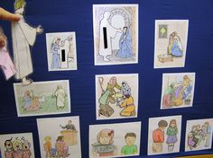 Lesson 3 & 4: Worship interactive bulletin board