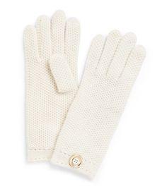 Moss Cashmere Stitch Glove