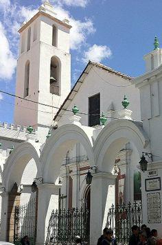 San Francisco Basilica, Sucre Bolivia #travel http://www.sucrelife.com/san-francisco-basilica/