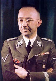 Heinrich Himmler. Color Photo.
