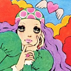 1971年 佐藤昌彦イラスト シール  ☆Stickers by Masahiko Satō, '71.