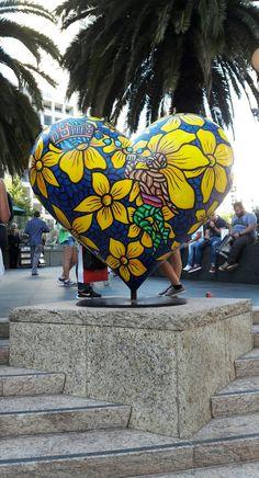 Aloha from the Heart of San Francisco. Heart Of Life, Heart In Nature, I Love Heart, My Heart, San Francisco Earthquake, Shapes Images, Beauty And The Best, San Fransisco, San Francisco California
