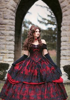 Gothic Belle Fantasy Dress So excited to offer this new style dress! Gothic Belle Fantasy Dress So excited to offer this new style dress! Beautiful gothic beauty and the animal or belle sty. Wedding Dress Black, Black Wedding Dresses, Wedding Gowns, Prom Gowns, Black Weddings, Bridal Gowns, Bridesmaid Dresses, Homecoming Dresses, Evening Dresses