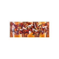 NOVICA Unique Abstract Oil Painting in Brown and Gold from Peru ($1,065) ❤ liked on Polyvore featuring home, home decor, wall art, abstract paintings, paintings, abstract painting, novica paintings, spanish paintings, textured abstract paintings and abstract home decor