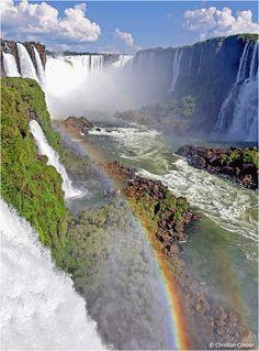 Iguaçu - Garganta do Diabo, Parana, Brazil