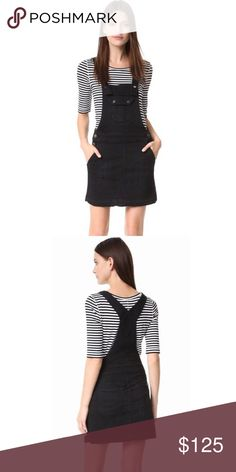 7de23ec62d8 7 For All Mankind Overall Dress 7 For All Mankind Black Overall Dress Size  Small.