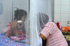 Honduras inicia desde hoy el combate frontal al zika  OMS decidirá si declara emergencia mundial. Estrategia incluye el uso de mosquitos genéticamente modificados. Una joven paciente es atendida en el Hospital Escuela Universitario en Tegucigalpa. Foto: AFP/Orlando Sierra<br/>