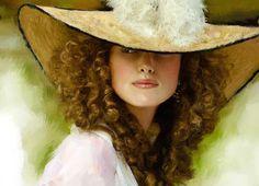 """""""Keira Knightley"""" digital Art by Yuriy Ratush"""