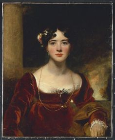 Portrait of Mrs. John Allnutt, née Eleanor Brandram, Sir Thomas Lawrence Early 19th century