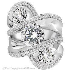Claude Thibaudeau Engagement Ring