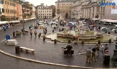 Piazza Navona - Rome. Visit our web site to enjoy the live streaming!