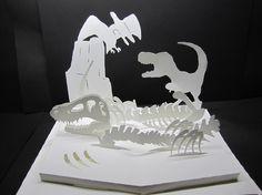 生きた恐竜のポップアップカードの要望をいただいたので作らせていただきました。 開くと同時に恐竜が飛び出すポップアップカードです。 作品は高級紙を使用していま...|ハンドメイド、手作り、手仕事品の通販・販売・購入ならCreema。