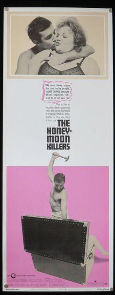 THE HONEYMOON KILLERS  Original Insert by ScreenlandMoviepaper