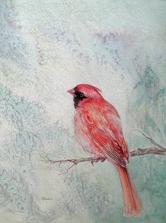 Cardinal bird by grapahicthropology (?)