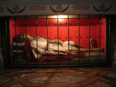Incorrupt body of Saint Silvan at the Church of Saint Blaise ...