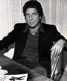 "cohenyearsphotos: "" Thanks to Christine R. for sharing on the Facebook group Leonard Cohen. Year and photographer unknown. """