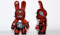 Art toys custom : we-dont-come-in-peace