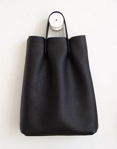 4e89c27c400 I need a soft black tote bag like this now  )