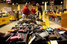 Feria de armas de Miami, arsenal para armarse hasta los dientes