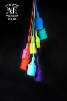 custom pendant lighting. color custom pendant lighting bare bulb edison by vintageampfunk