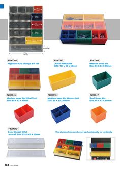 FreeZone supplies wide selection of tool storage solutions, we insist on providing high efficiency tool organization systems, products, and services. Lego Storage, Tool Storage, Storage Boxes, Storage Ideas, Visual Management, Tool Rack, Workshop Storage, Garage Shop, Garage Organization