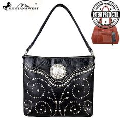Montana West MW160G-116 Concealed Carry Handbag