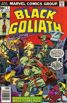 Black Goliath. No. 5. Nov. Marvel Comics Group.