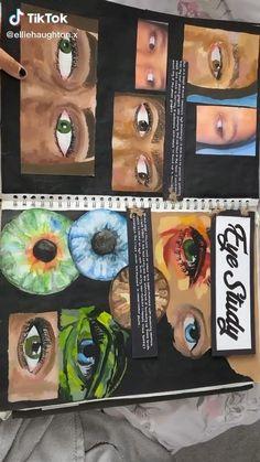 Textiles Sketchbook, Gcse Art Sketchbook, A Level Art Sketchbook Layout, Sketchbook Ideas, Art Journal Pages, Art Pages, Arte Gcse, Photography Sketchbook, Art Alevel