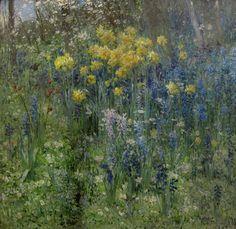 Fleurs de Pacques - Ernest Quost 1890