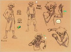 risu_sketches by ~Kurunya on deviantART