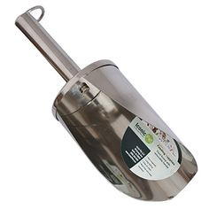 Iconic Pet 2-Cup Stainless Steel Pet Food Scoop with Removable Handle, Large/12-Inch ** Read more @