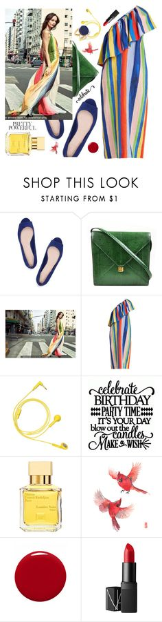 """""""Celebrate Pride Month"""" by wuteringheights ❤ liked on Polyvore featuring Tory Burch, Hermès, Mara Hoffman, Happy Plugs, Maison Francis Kurkdjian, Givenchy, NARS Cosmetics, Marni and pride"""