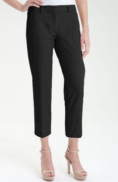 Elie Tahari Exclusive for Nordstrom Crop Slim Leg Pants (Nordstrom Exclusive) available at #Nordstrom