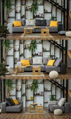 Ein Sofa, viele Möglichkeiten für dein Wohnzimmer, auch toll in kleinen Räumen. Das Modulsofa BonBon 2 von FEYDOM, große Farbauswahl und Stoffauswahl sowie Kominationsmöglichkeiten.
