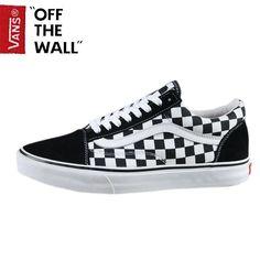 e209b9df0f Buy Vans Customs Check Old Skool Classic Black True White Mens Shoes Copuon  Code from Reliable Vans Customs Check Old Skool Classic Black True White  Mens ...