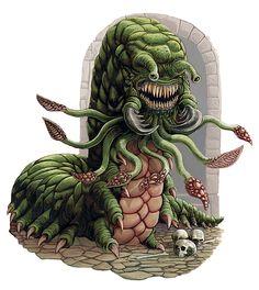 A carrion crawler