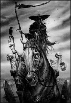 Ankou - Death in Breton mythology