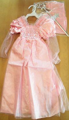 Wizard Of Oz Glinda Girls Costume Size M