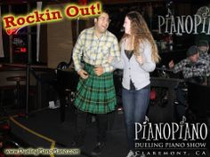 It's always a party at PianoPiano Dueling Pianos!