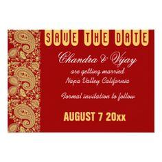 red_and_gold_indian_damask_save_the_date_wedding_9_cm_x_13_cm_invitation_card-r25ed9526dcd741aea0c26577febaec8b_zk9gj_324.jpg (324×324)