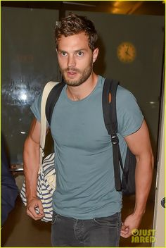 The Golden Torso and the Golden Arms! Jamie's such a perfect man.